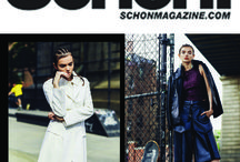CRES. E DIM. in Schön! Magazine / CRES. E DIM. in famous fashion magazine Schön! Meet the CRES. E DIM. with a difference in a chic skater girl, in Schön issue 25 #Drama.