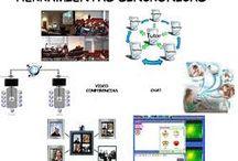 Elementos sincrónicos / Diferencias entre herramientas sincrónicas y asincronicas de las nuevas tecnologías en la educacion. Ejemplos de herramientas sincronicas
