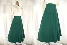 Vintage Skirts / Vintage Skirts we love and sell!