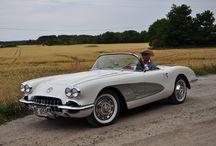 Corvette 1959 / Corvette c1, første generasjon corvette. Regnet som amerikas første sportsbil