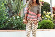 Pants and sweater/sweatshirt