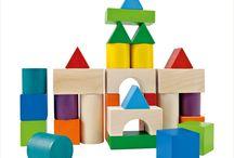 Samengestelde vormen met blokken (school)