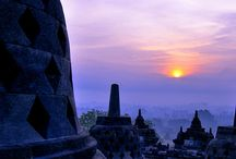 Borobudur  / Having been here myself, these pictures don't do this place justice. One of the most spectacular places on earth!