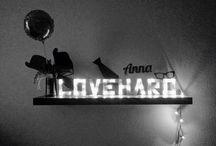 #Love.Hard.                                                               Geburtstagsgeschenk für Anna...von ihren Freunden