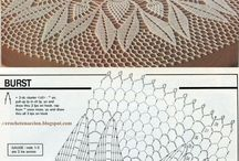 crochet tablecloth and doily patterns