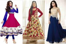 Latest Party Wear Salwar Kameez Online / Look gorgeous & unique in every party with our fashionable & latest Party wear Salwar Kameez for weddings bit.ly/1KMKlPj