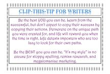 Clip-a-Tip / Collections of life and career hacks.