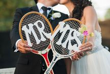 Tennis wedding ;)