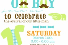 baby boy shower / http://fabgabblog.com/2012/11/fab-fete-turquoise-and-orange-baby-shower-and-nursery/