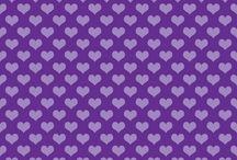 Фоны фиолетовые