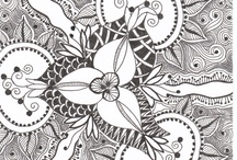 Zentangles / Here you will find all the zentangles I like. Zentangle is an easy-to-learn, relaxing, and fun way to create beautiful images by drawing structured patterns. / by Francine Derks
