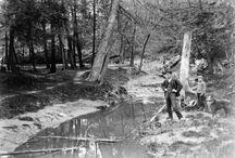 Garrison Creek / Garrison Creek is a buried river that now flows underground through Toronto to Lake Ontario