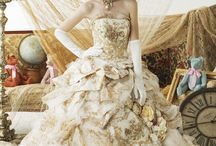 Steampunk Wedding Dresses / Some inspirations of what I want for my dress to look like