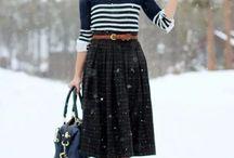 Skirts outfits/образы с юбкой
