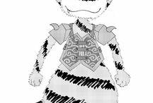 pollux-manga/lineart / inkdrawings