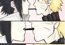 """naruto sasuke:""""v"""