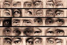 Фототест: Найди глаза президента / Хиллари Клинтон как-то заметила, что в глазах Путина трудно найти что-либо, а Джордж Буш, заглянув в глаза президенту России, увидел там родственную душу. Здесь 20 фото. 20 пар глаз известных всему миру людей. Найдёте Его?