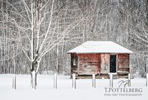 Bridges / Shacks / Barns / A collection of various bridges, shacks and barns found throughout Ontario, Canada.  Photographed by artist: Trevor Pottelberg.    Facebook Fan Page: www.facebook.com/tpottelberg.    Website: www.tpottelberg.com