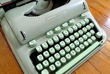 Vintage Typewriters / by Curt Wood