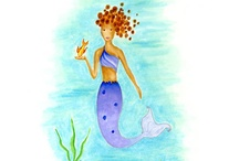 Kids Room Decor / mermaids and fairy's and anything kids fancy