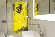 decoration wall in bathroom / Decorative wall add character each bathroom.