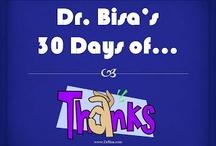 Dr. Bisa's 30 Days of Thanks