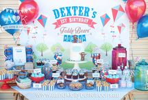 A&K Lolly Buffet {Teddy Bears' Picnic 1st Birthday Party Dessert Buffet} / http://aandklollybuffet.com.au/teddy-bears-picnic-first-birthday-party/