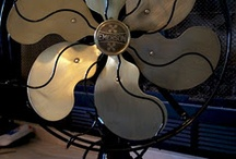 Vintage Fans / Electric fans - feel the breeze on your face.