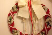 Natale 2014 / Decorazioni degli iNTReCCiQuoTiDiaNi Tutto made in Italy  Tutto fatto a mano Buon Natale