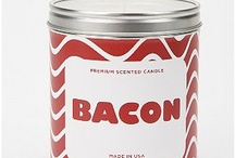 {food} Bacon! / Silly bacon bits. (Real uses coming in the board: {food} Real Bacon!.)