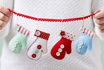 Pattern print decorations christmas