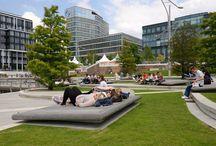 Vybavenosť parku, mobiliár