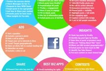 Infographics / A collection of infographics covering fields of marketing and socia media.