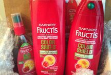 Garnier Fructis #ColorShield / Reviews on the free products that I received from Garnier and Influenster / by Justine Nicole