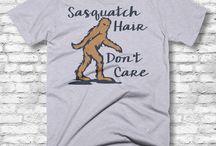Sasquatch / Bigfoot / Premium Sasquatch / Bigfoot Themed Products by Anarchy 307