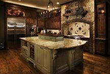 dream kitchens/houses