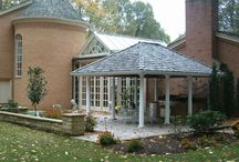 Outdoor Structures / Outdoor structures may be just the thing to enhance your garden or offer a pleasant place to retreat in which to relax. Gazebos and arbors can give a feeling of privacy while adding a focal point to your landscape.