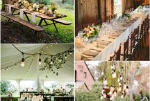 My wedding / wedding decoration, ideas, games, dresses, barn wedding, tent,  rustic, boho, vintage