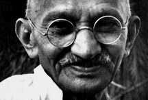Ghandi - greatest man ever / by Avital Kohananoo