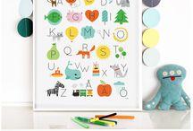 Nursery nook / Cute and super cool nursery decoration ideas.
