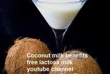 coconut milk free lactosa
