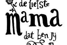 moederdag teksten
