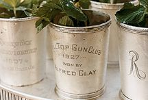 mint julep cups / by JoEllen Smith