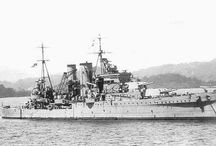 British heavy cruisers (HMS York classe)