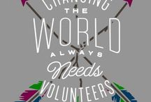 Volunteers / Volunteering and Acts of Service