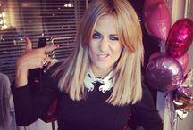 Caroline Flack hair pics