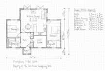 Wee House Layout Sketches / We are often asked to sketch up a design for potential customers.  This is considered a Bespoke Wee House, please see some layouts that have been done with the customer's lifestyle and requirements in mind.    If you own land and considering a Wee House, please make contact on 07772 949315.  We build in our workshop in Ayrshire and deliver throughout the UK.