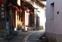 """{Li Jiang, China} / Ancient, Li Jiang is a little city in Yunnan province in the north of China. Alongside traditional buildings, there is an abundance of bars and young people. The city is named after the """"Li Jiang"""" river that runs through it."""