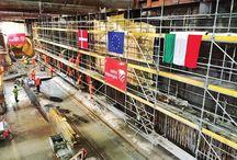 """Z cyklu """"ULMA na świecie"""" - Metro w Kopenhadze / W stolicy Danii, w ramach projektu """"Cityringen"""", powstaje 16-kilometrowy odcinek metra z 17 stacjami. Wartość projektu wynosi ok. 1,5 mld. """"Cityringen"""" docelowo będzie przewozić w ciągu doby 130 milionów pasażerów. Włoska filia naszej firmy - ULMA Construction S.p.A. - dostarczyła na tę budowę rozwiązania rusztowaniowe w systemie modułowym BRIO, które zapewniły bezpieczeństwo prac."""