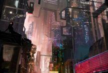 Sci fi Environment inspiration
